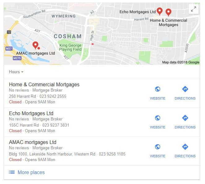 Local Search Marketing Services - Google Maps